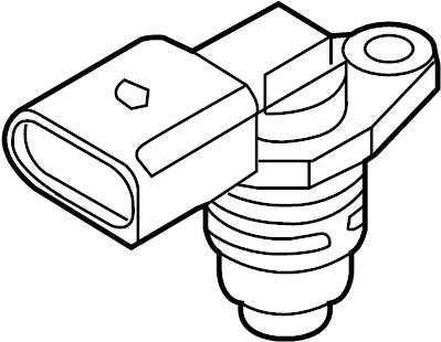 Volkswagen Jetta Engine Crankshaft Position Sensor. A3; 1