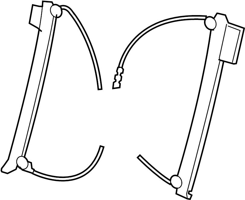 Volkswagen Beetle Convertible Window Regulator