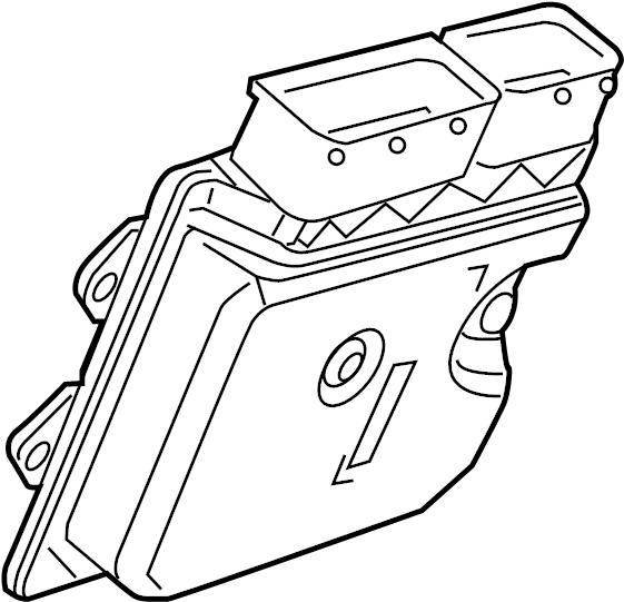 Volkswagen Beetle Convertible Engine Control Module