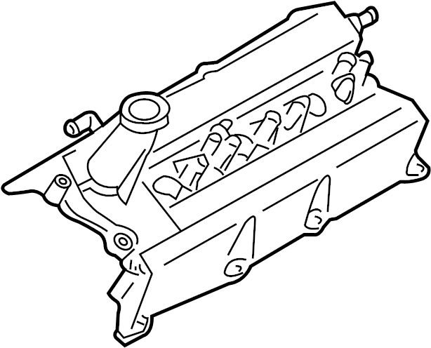 INFINITI JX35 Engine Valve Cover. HEAD, CYLINDER, ASSEMBLY