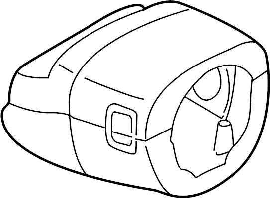 INFINITI I35 Steering Column Cover. GXEL, Suspension