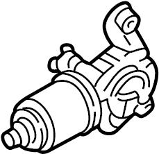 INFINITI I35 Windshield Wiper Motor. System, Electrical