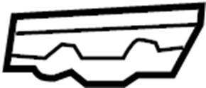 INFINITI QX80 Bumper Cover Bracket (Left, Front). AWD