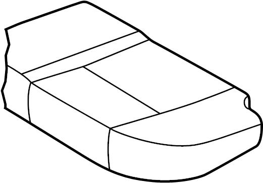 INFINITI QX4 Seat Cover (Left, Rear). Trim, Interior, Body