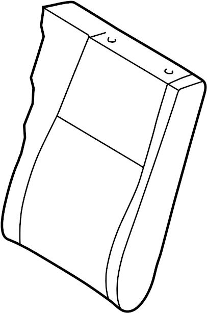 INFINITI QX4 Seat Back Cover (Rear). Trim, Interior, Body