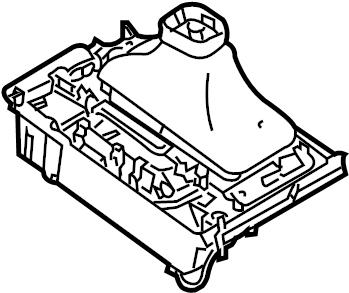 INFINITI G35 Manual Transmission Shift Boot. TRACK, WOODEN