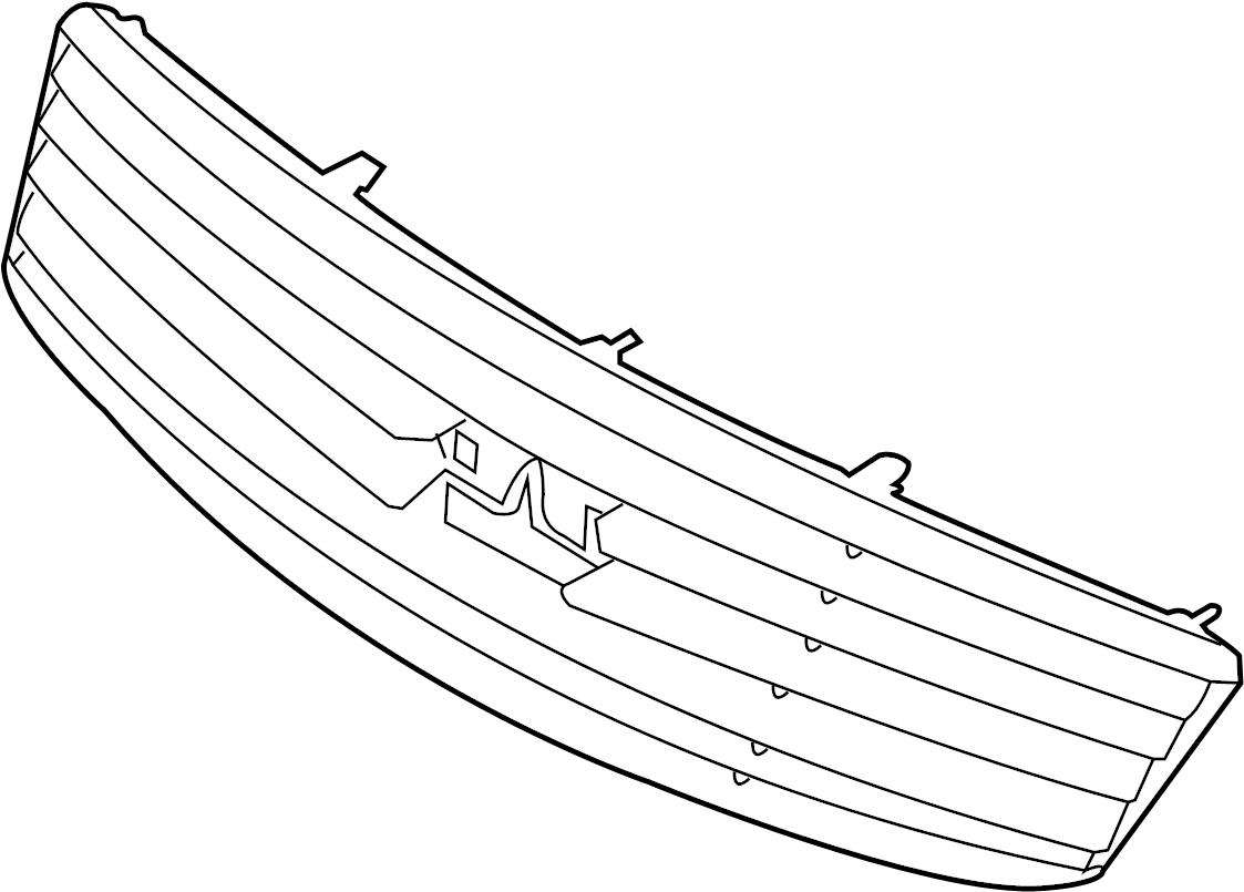 Infiniti Q40 Grille Front Trim Interior Body