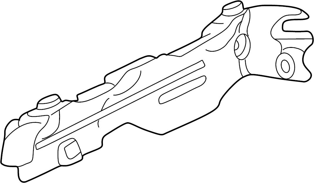 INFINITI M45 Exhaust Manifold Heat Shield. ENGINE, COVER