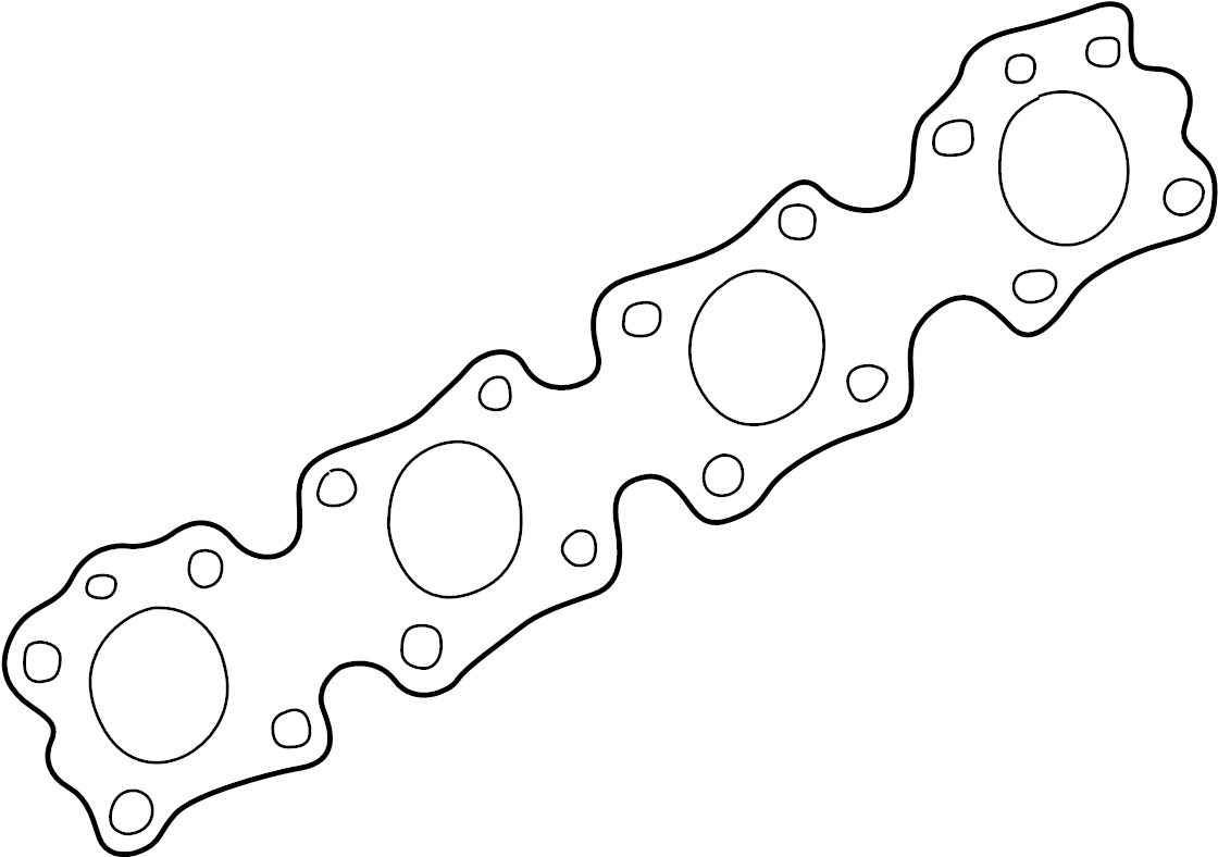 INFINITI FX35 Exhaust Manifold Gasket. ENGINE, COVER