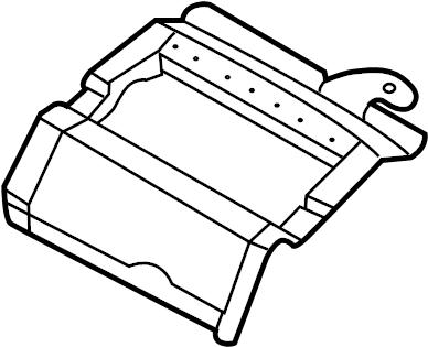 INFINITI M45 Instrument Panel Reinforcement (Upper). PAD