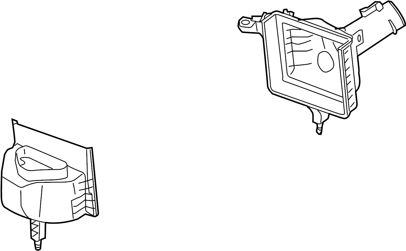 Infiniti M37 Air Filter Housing Lower Cleaner
