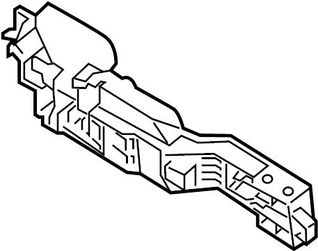 INFINITI M37 Exterior Door Handle Base (Left). LSEDAN