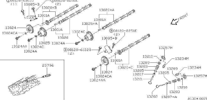 INFINITI Q45 Engine Timing Camshaft Sprocket. CHANE, VALVE