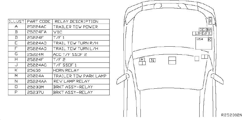 INFINITI QX56 Hvac Blower Motor Relay. ROOM, ENGINE