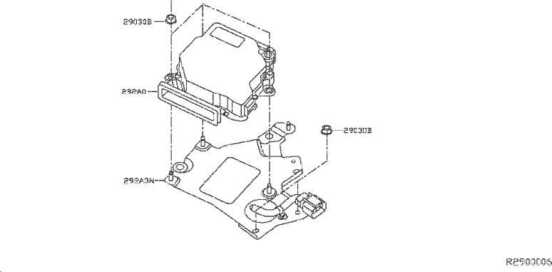 INFINITI QX60 Bracket Harness. SYSTEM, INVERTER, DRIVE