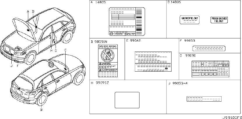 [DIAGRAM] 2003 Infiniti Fx35 Engine Compartment Diagram