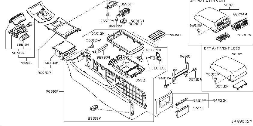 INFINITI G35 Manual Transmission Shift Linkage Boot