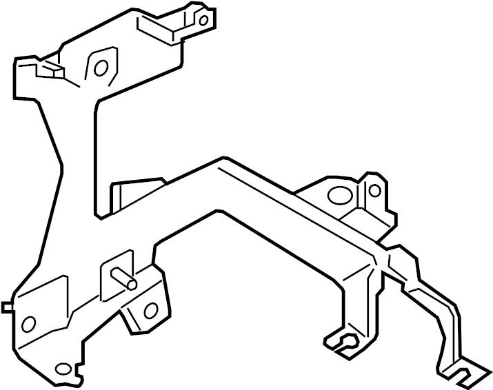 INFINITI JX35 Engine Control Module Bracket. MOUNTING