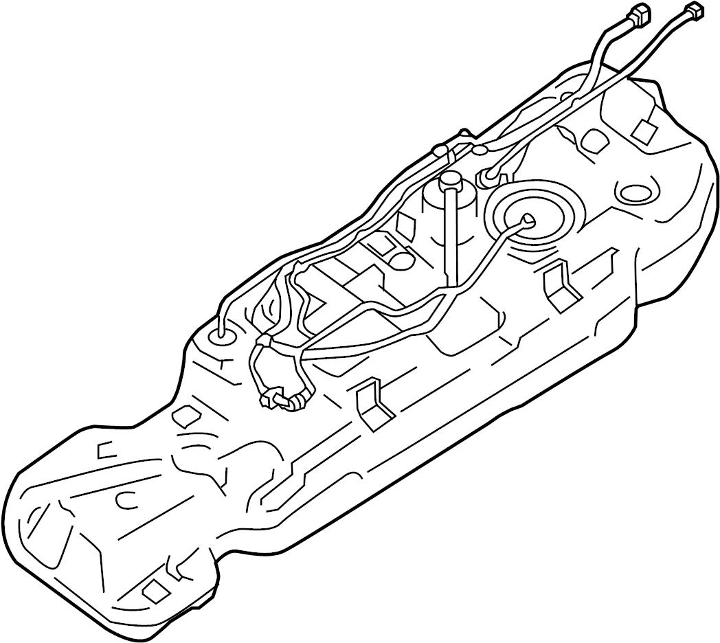 Infiniti Jx35 Fuel Tank Fwd Awd