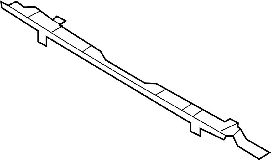 INFINITI FX35 Radiator Support Bracket (Front, Upper