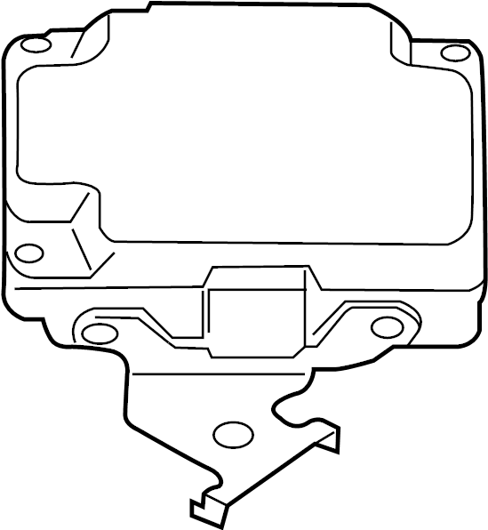 INFINITI JX35 Drive Motor Battery Pack Control Module