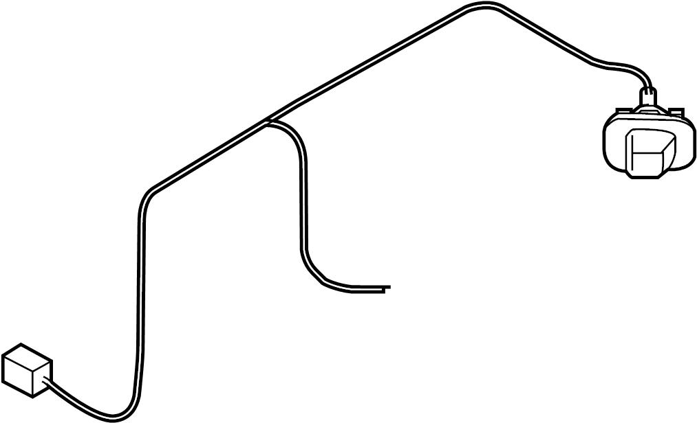 INFINITI QX56 Harness Sub, Licence Plate Lamp. Service