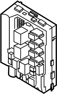 2004 INFINITI G35 Controller Unit IPDM Engine Room