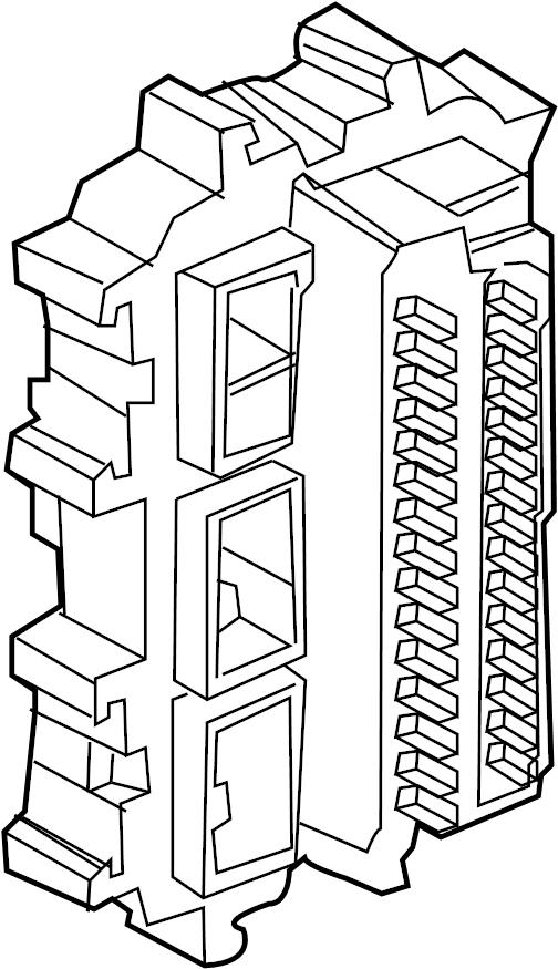 1996 INFINITI Junction Block. HARNESS, ENGINE, ROOM