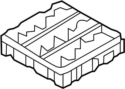 2001 INFINITI QX4 Bracket Junction. Bracket Relay Box