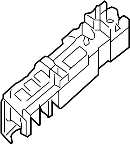 2016 INFINITI QX50 Housing Fusible Link Holder. HARNESS