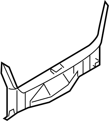 INFINITI M45 Rear Body Panel Trim Panel (Rear). TIRE