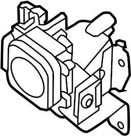 INFINITI QX60 Cruise Control Distance Sensor. RAIN, LSE
