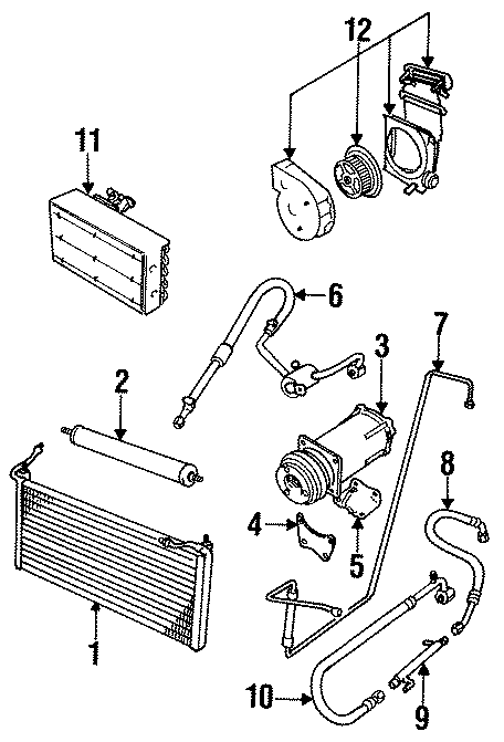 Jaguar XJ6 A/c receiver drier. Frequently, acting