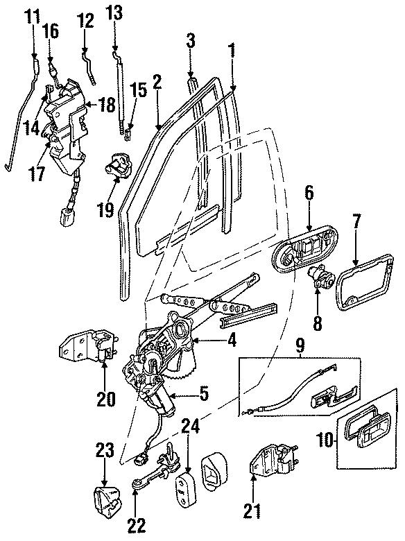 Jaguar XK8 Motor. Power Window Motor. WINDOW MOTOR. Front