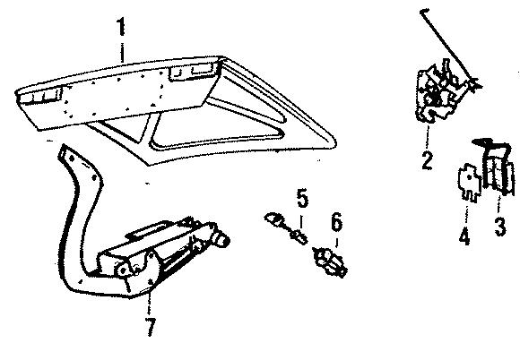 Jaguar XJ6 Cylinder and keys housing. Series 1 & 2