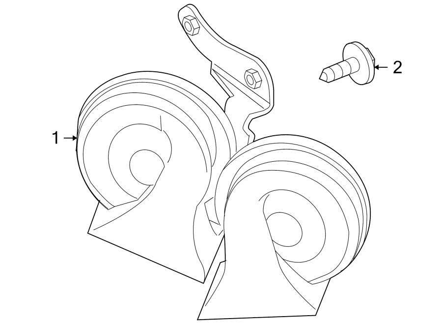 Jaguar Vanden Plas Horn. Operator controlled auditory