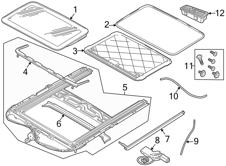 Jaguar Xj8 Sunroof Parts Diagram. Jaguar. Auto Wiring Diagram