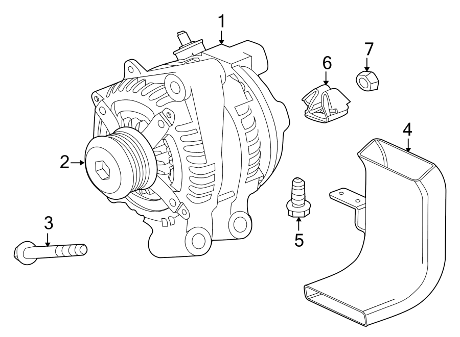 Jaguar XJ Suspension Control Arm Bolt (Rear, Upper, Lower