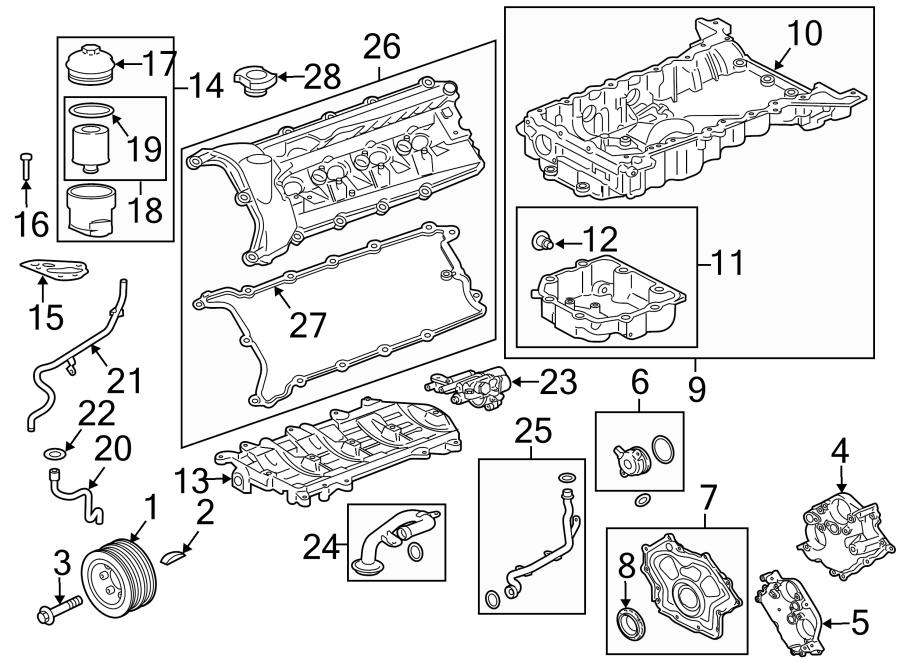 Jaguar XJ Gasket. Manifold. WSupercharger, Lower, LITER