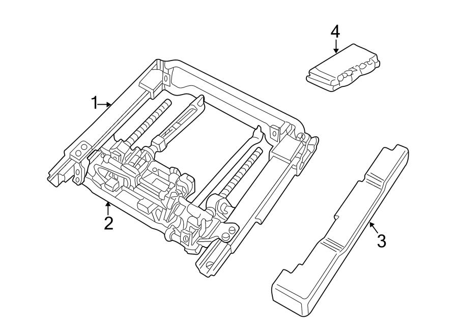 Jaguar XK8 Control module. MEMORY MODULE. Power Seat