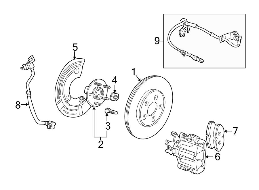 Jaguar S-Type Hub wheel stud. Wheel Lug Stud. Wheel stud