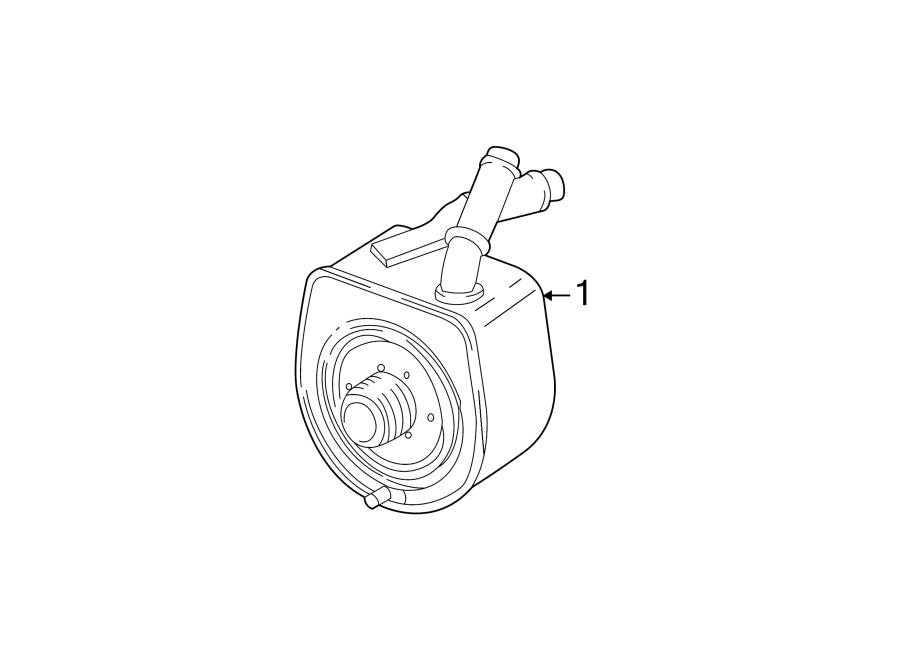Jaguar S-Type Engine Oil Cooler. SUPERCHARGER, LITER