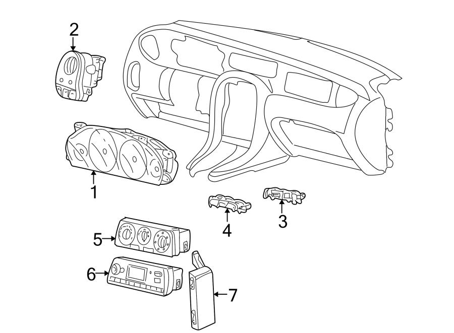 Jaguar X-Type Hvac temperature control panel. W/auto