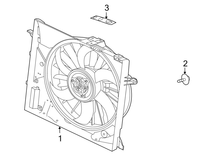 Jaguar XK Engine Cooling Fan Shroud Bolt. LITER