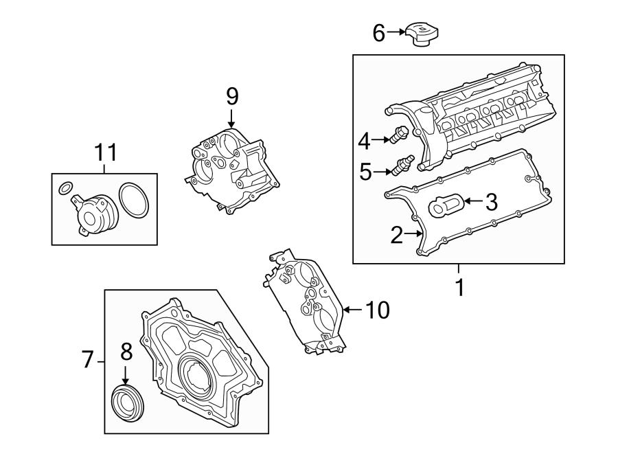 Jaguar XK Solenoid. Engine, TIMING, SUPERCHARGER
