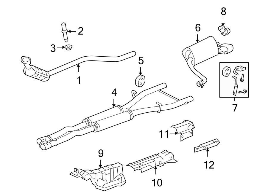 Jaguar XF Pipe. Exhaust. Intermediate. Interior. Intermed