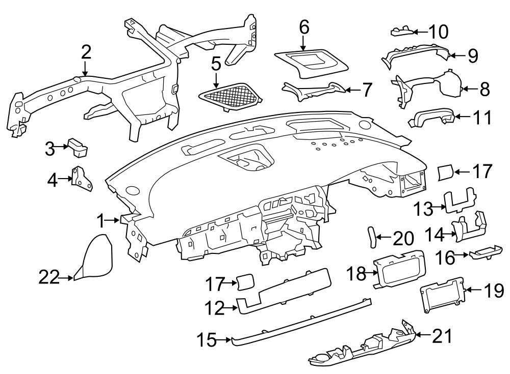 Jaguar XF Dash Panel. Instrument panel. Oyster