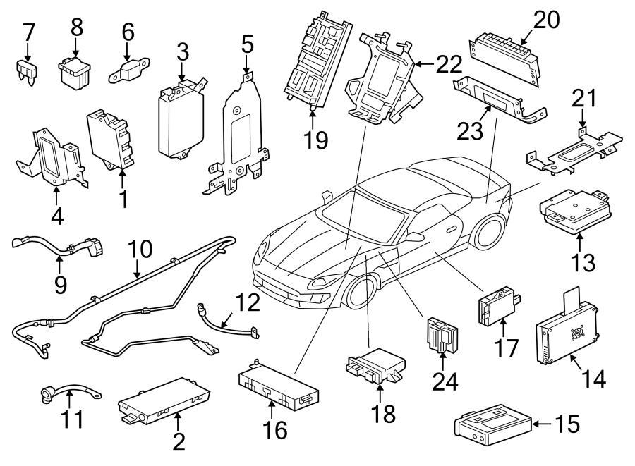 Jaguar XF Fuel Pump Driver Module. Control, PartQualifier