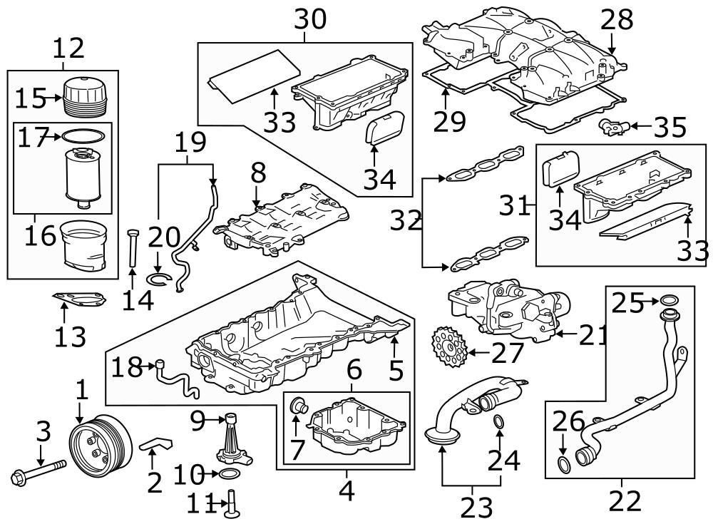 Jaguar XJ Drive gear. Engine Oil Pump Drive Gear. Engine