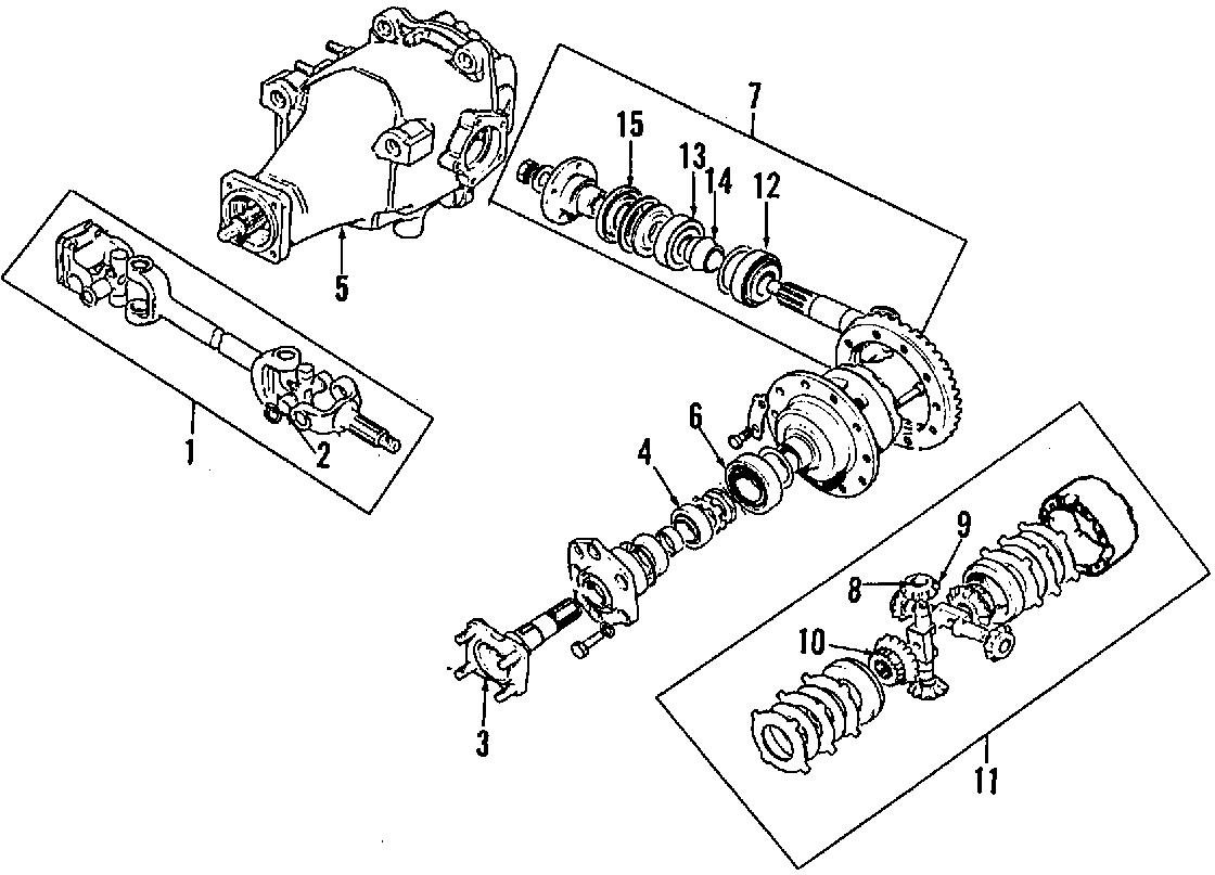 1987 Jaguar XJ6 Carrier. Differential. Locking; 2.88:1
